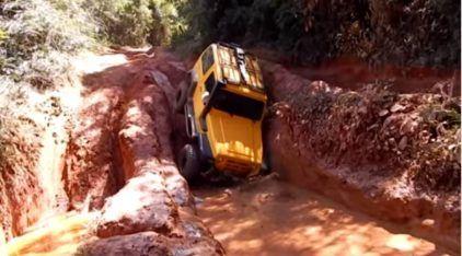 Trilha Insana e Extrema: Troller, Hilux, Jeep Wrangler e Willys tentam Sobreviver aos Desafios na Lama!