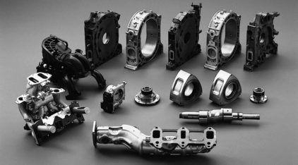 Estas são as Peças de um Estranho e Raro Motor que Equipa alguns Carros! Descubra como Funciona em Vídeos Ilustrados!