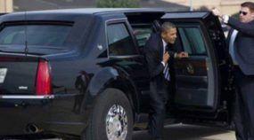 Cadillac One: vídeo mostra o que o superblindado de Obama é capaz de aguentar (quase tudo!)