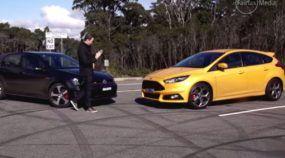 Focus ST: o foguetinho da Ford que faz falta no Brasil encara o VW Golf GTI