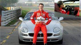 Momento TOP: Michael Schumacher acelerando fortíssimo (e mitando) com uma Maserati conversível na Pista!