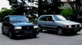 Duas Lendas da Fiat: Uno Turbo x Uno 1.5 R! Veja este comparativo top em vídeo!