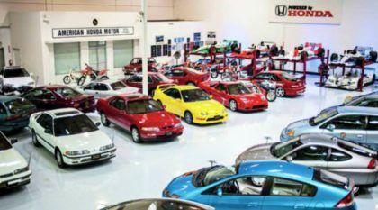 Conheça o museu secreto da Honda na Califórnia (tem uma réplica da primeira loja Honda nos EUA)