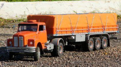 Você vai querer este Scania 111S (Jacaré) em miniatura RC (os detalhes são incríveis)