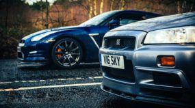 Veja o que acontece quando um Nissan Skyline GT-R (R34) desafia um Nissan GT-R (R35)