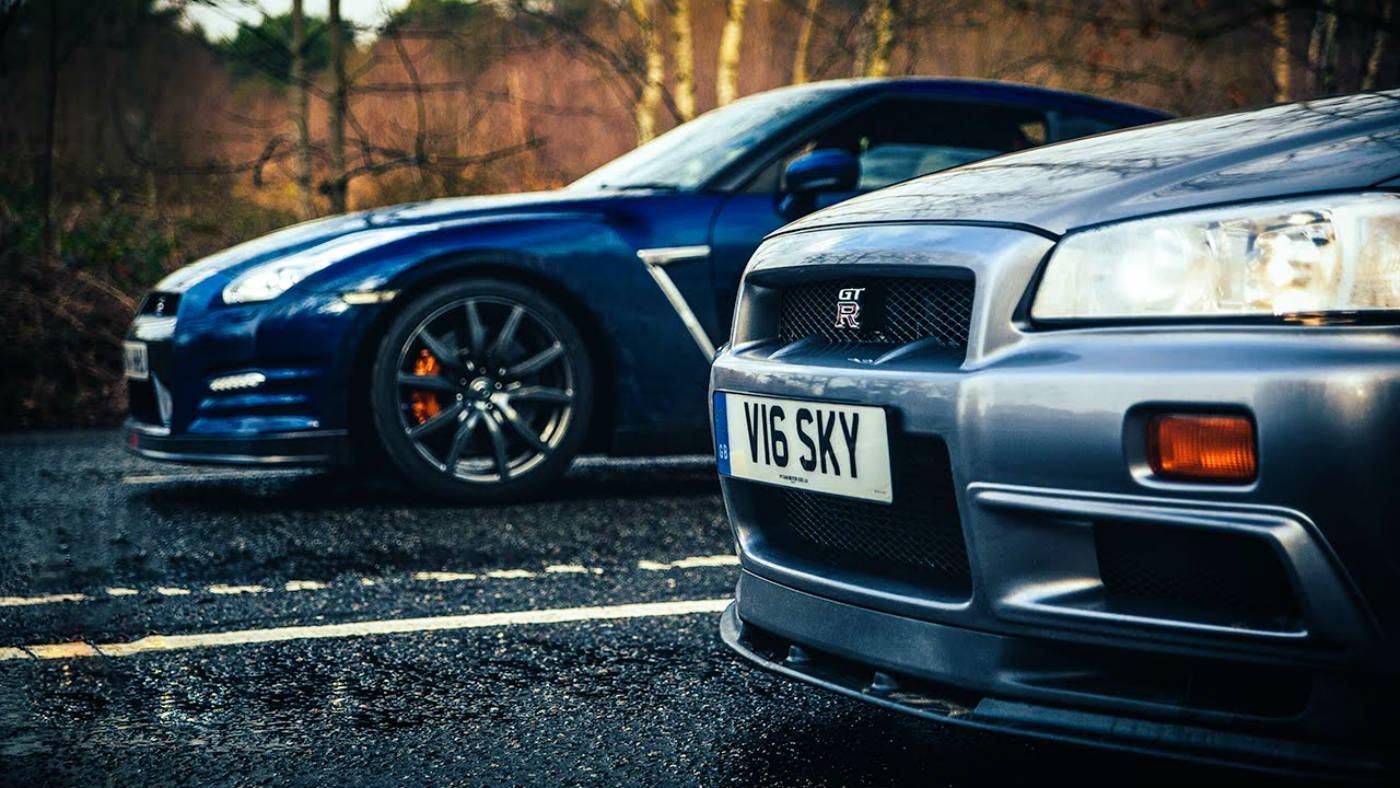 Veja O Que Acontece Quando Um Nissan Skyline GT R (R34) Desafia Um Nissan  GT R (R35) | AutoVídeos