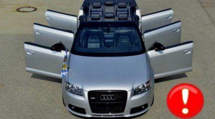 Insanidade total: um Audi A3 (limousine e conversível) com 6 portas?