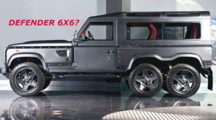 Insanidade intimidadora: Conheça o (potente) Land Rover Defender 6×6!
