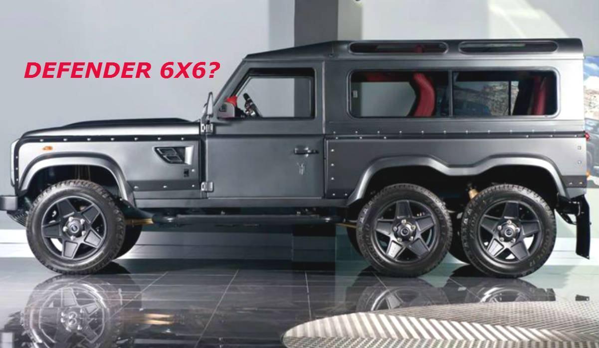 Insanidade Intimidadora Conheca O Potente Land Rover Defender 6x6