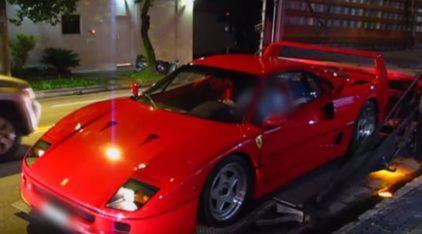 Raridade Extrema: Vídeo revela a única (e espetacular) Ferrari F-40 existente no Brasil!
