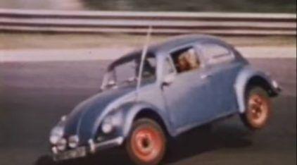 Vídeo prova que o pessoal era (mais) maluco antigamente: Carros comuns na pista de Nürburgring em 1970!