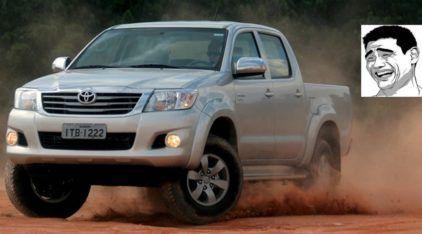 Motivos hilários para ter uma Toyota Hilux (até o Cowboy de Posto vai rir)