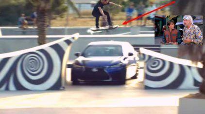 De Volta para o Futuro: Lexus apresenta o Skate Voador (hoverboard) em 2015! É incrível demais!