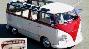 Espetacular! Conheça a VW Kombi preparada pelo Chip Foose!