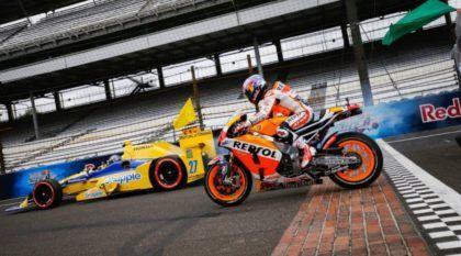 Desafio top e inédito: MotoGP x Fórmula Indy em Indianápolis (tem emoção e surpresas até o fim)!