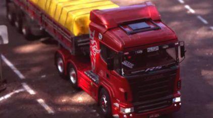 Top! Conheça a primeira pista do Brasil feita para (incríveis) Miniaturas de Caminhões!