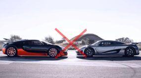 Duelo definitivo de Gigantes! Afinal, qual é mais rápido: Bugatti Veyron ou Koenigsegg Agera R?
