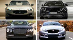 Os Sedãs mais luxuosos (e esportivos) que o dinheiro pode comprar