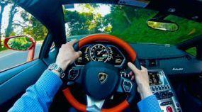 Essa é a (real) sensação de dirigir um Lamborghini Aventador Roadster de R$ 3.6 milhões! Vídeo extraordinário!