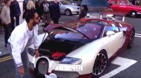 Quem diria? Bugatti Veyron quebra (e é empurrado) no meio da rua!