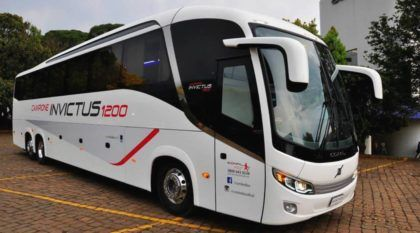 Novo ônibus brasileiro é lançado: Veja as primeiras imagens do Comil Campione Invictus!