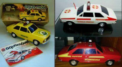 Um Ford Corcel II movido a água? Lembre-se do Aquamóvel, brinquedo lendário da Estrela!