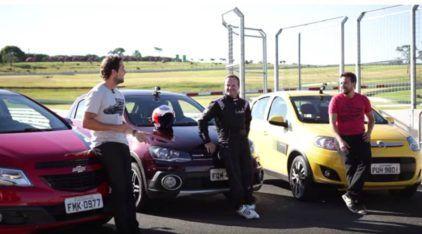 Gol x Onix x Palio: Afinal, qual anda mais? Rubens Barrichello responde (e um deles ficou bem para trás)!