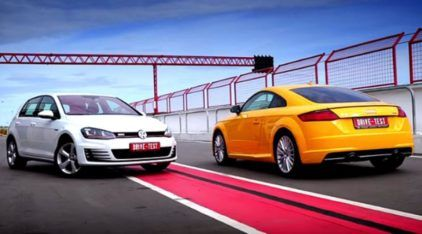 Grandes obras da VW: comparativo (curioso) entre o Golf GTI e o Audi TT