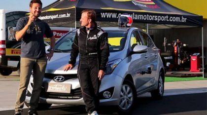 Será que o Hyundai HB20 1.6 é mais rápido que seus concorrentes? O Barrichello acelera e responde!