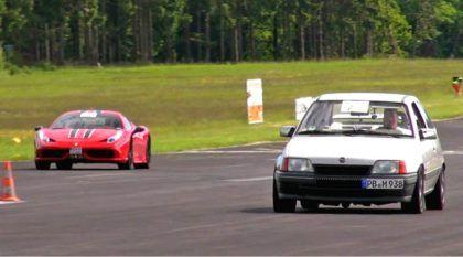 O dia em que um velho Chevrolet Kadett humilhou (brutalmente) uma Ferrari!