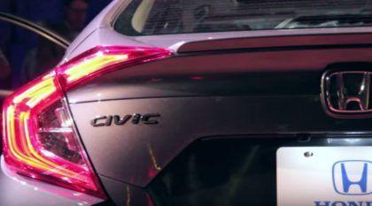 Agora é oficial! Honda apresenta o Novo Civic 2016 (e vídeos mostram todos os detalhes)!