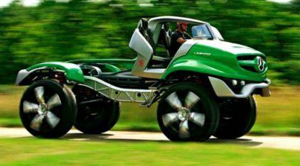 Este é o projeto mais insano (e radical) de caminhão que a Mercedes já fez! Concorda?