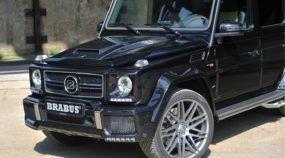 Animal! Brabus lança 850 6.0 Biturbo Widestar, versão insana do jipe Mercedes-Benz G63 AMG