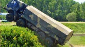 Que tal dirigir estes caminhões e pesos pesados em condições tão extremas?