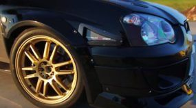 Subaru WRX com R$ 200 mil em preparação tenta ser mais rápido que o Nissan GT-R