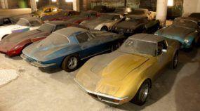 Depois de 25 anos abandonadas num porão, essas 36 Corvettes voltarão à vida novamente!