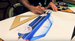 Você curte ou faz desenhos de carros? Vídeo mostra dicas e detalhes sensacionais (inclusive em 3D)