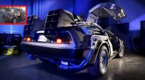 De volta para o Futuro: o inesquecível Delorean ORIGINAL está sendo restaurado! Vídeo mostra detalhes!