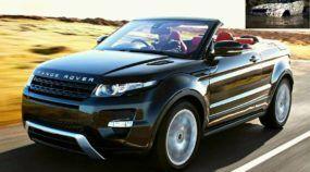 O aguardado Novo Range Rover Evoque (Conversível) aparece em testes, na lama, antes do lançamento!