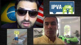 Brasileiros mostram, em vídeo, a absurda (e brutal) diferença entre o IPVA no Brasil e nos EUA!