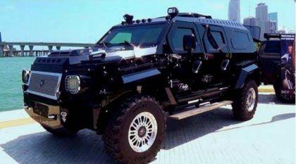 Brutal, este monstro é o veículo blindado mais luxuoso do mundo (um verdadeiro carro militar para civis)!