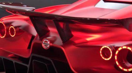 Nissan apresenta o seu agressivo Vision GT (que pode ser uma prévia do futuro GT-R)!