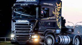 Novidade de peso: Scania Griffin Edition no Brasil! Veja os vídeos deste novo mito das estradas!