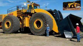 Brutal, este é o maior Trator Pá Carregadeira do mundo (com 2.332cv, podendo levantar 72 toneladas)!