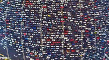 Imagens impressionantes do engarrafamento que durou 5 dias na China (isso mesmo, 5 dias!)