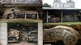 A incrível história de 100 carros (raros e valiosos) que ficaram abandonados por mais de 40 anos!