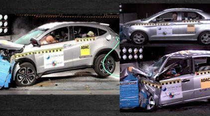 Descubra como o Honda HR-V e Ford Ka foram no Teste de Colisão (e veja o Vexame de um Chevrolet)!