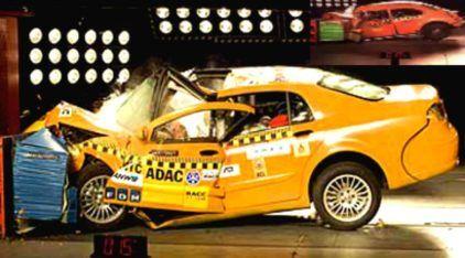10 carros com os piores resultados em Testes de Colisão (os 2 primeiros são impressionantes demais)!