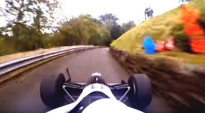 Insanidade inacreditável e veloz! Esse piloto desafiou a realidade na subida da montanha (Vídeo TOP)!
