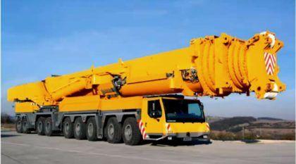 Monstruoso, este é o Maior Caminhão-Guindaste do mundo (conheça esta máquina incrível em vídeos)!